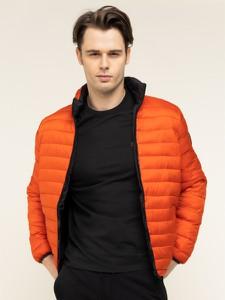 Pomarańczowa kurtka Calvin Klein w stylu casual