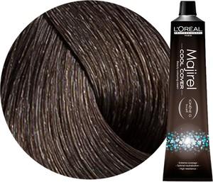 L'Oreal Paris Loreal Majirel Cool Cover | Trwała farba do włosów o chłodnych odcieniach - kolor 5 jasny brąz 50ml - Wysyłka w 24H!