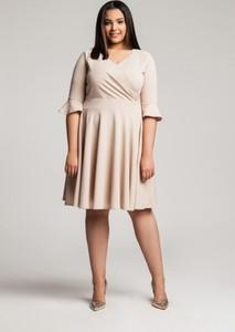 Sukienka By 20inlove dla puszystych midi