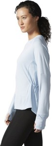 Bluzka Adidas Performance z długim rękawem w sportowym stylu