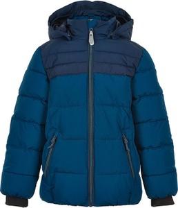 Niebieska kurtka dziecięca Color Kids dla chłopców