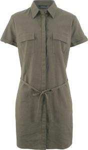 Bonprix bpc bonprix collection sukienka szmizjerka lniana