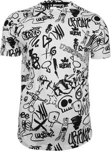 T-shirt Brave Soul z nadrukiem z tkaniny w młodzieżowym stylu