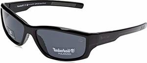 amazon.de Timberland TB9154 męskie okulary przeciwsłoneczne, czarne (Shiny Black/Smoke Polarized) 62