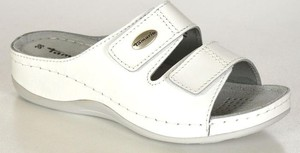 Tamaris 27510-20 white klapki damskie