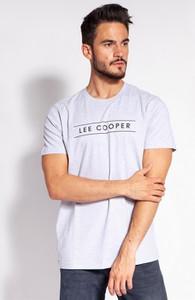 T-shirt Lee Cooper w młodzieżowym stylu z krótkim rękawem