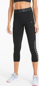 Czarne legginsy Puma w stylu klasycznym