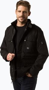 Czarna kurtka Vintage Industries w stylu casual