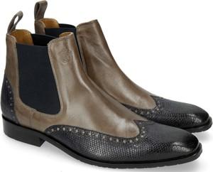 Buty zimowe Melvin & Hamilton w stylu klasycznym z zamszu