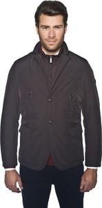 Granatowa kurtka Recman w stylu casual