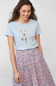 T-shirt ORSAY z okrągłym dekoltem w młodzieżowym stylu