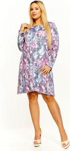 Sukienka Trendy By Sobiertex z długim rękawem