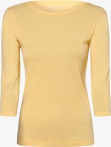 Bluzka brookshire z długim rękawem z okrągłym dekoltem w stylu casual