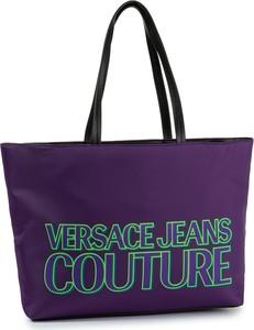 Fioletowa torebka Versace Jeans