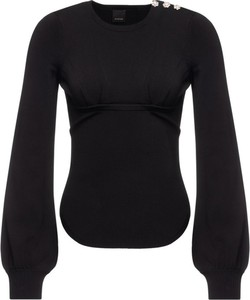 Czarny sweter Pinko