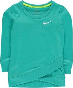 Turkusowa bluza dziecięca Nike