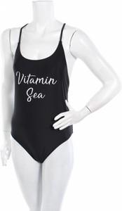 Czarny strój kąpielowy Catwalk Junkie