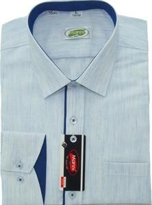 Niebieska koszula Marex Łódź z bawełny