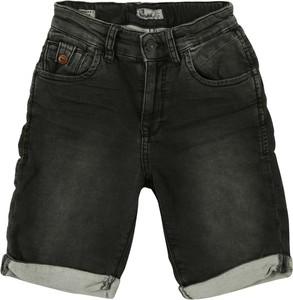 Czarne spodenki dziecięce LTB z jeansu