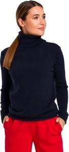 Granatowy sweter MOE