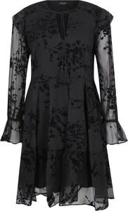 Sukienka Mytwin Twinset z długim rękawem rozkloszowana mini