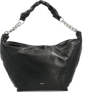Czarna torebka Pinko ze skóry