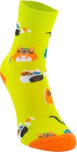 Zielone skarpetki Sporty Socks