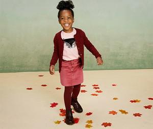 Spódniczka dziewczęca Tchibo z bawełny