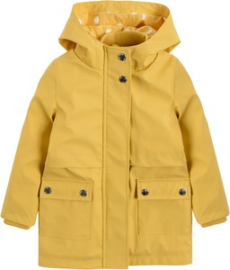 Żółta kurtka dziecięca Cool Club z bawełny