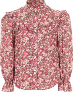 Koszula dziecięca Philosophy di Lorenzo Serafini w kwiatki z bawełny dla dziewczynek