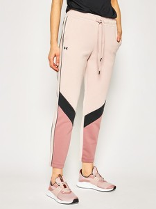 Spodnie sportowe Under Armour w stylu casual z dresówki w geometryczne wzory