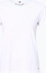 7afc7d8a590f1 t shirt damski tommy hilfiger - stylowo i modnie z Allani