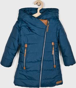 Niebieska kurtka dziecięca Nativo z tkaniny