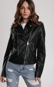 Czarna kurtka Renee w stylu casual