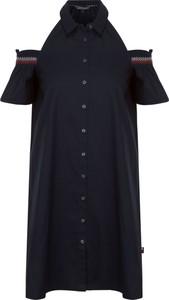Sukienka Tommy Hilfiger w stylu casual z krótkim rękawem