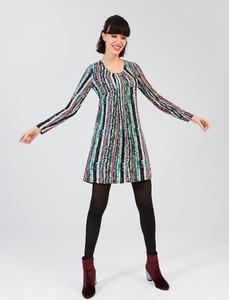 Sukienka Surkana mini z dekoltem w kształcie litery v