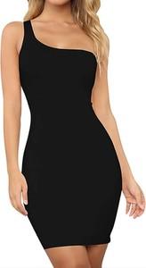 Czarna sukienka Arilook ołówkowa