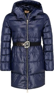 Niebieska kurtka Liu-Jo w stylu casual