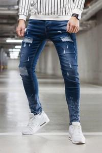 Niebieskie jeansy Duuf