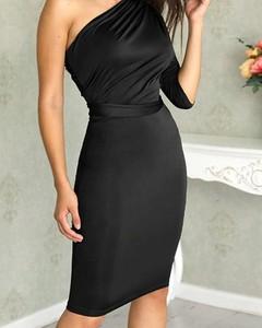 Czarna sukienka Kendallme bez rękawów midi