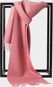 Różowy szalik Alpaqori