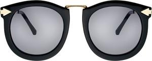Czarne okulary damskie Moretti