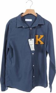 Granatowa koszula dziecięca Zara Kids dla chłopców