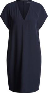 Niebieska sukienka Set mini z krótkim rękawem w stylu casual