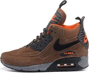 Brązowe buty sportowe Nike air max 90