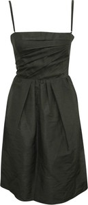 Czarna sukienka Dolce & Gabbana mini na ramiączkach