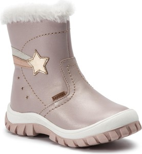 Różowe buty dziecięce zimowe Lasocki Kids