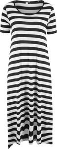 Sukienka bonprix bpc bonprix collection maxi z dżerseju