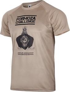 T-shirt Formoza Challenge z krótkim rękawem w młodzieżowym stylu