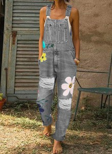 Jeansy Sandbella w stylu casual